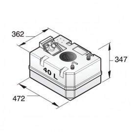Zbiornik diesla - podłączenie 8mm
