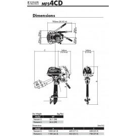 Silnik Tohatsu MFS 4
