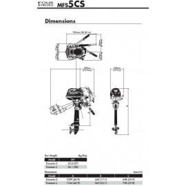Silnik Tohatsu MFS 5