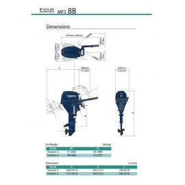 Silnik Tohatsu MFS 8