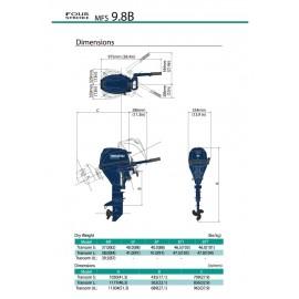 Silnik Tohatsu MFS 9,8