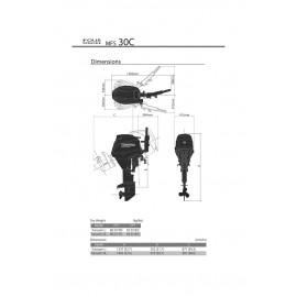 Silnik Tohatsu MFS 25
