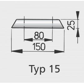 Anoda aluminiowa kadłuba typ 15
