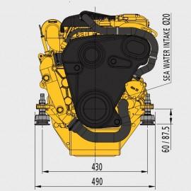 Silnik Vetus M4.56