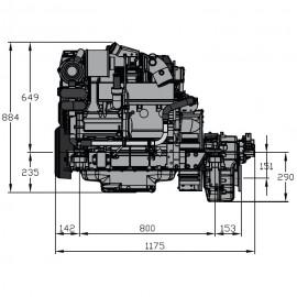 Silnik Vetus VD4.120