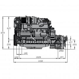 Silnik Vetus VD6.170