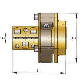 """Sprzęgło Bullflex 01 na wał 20, 25mm i 1"""""""