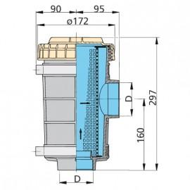 Filtr siatkowy do wody typ 1320