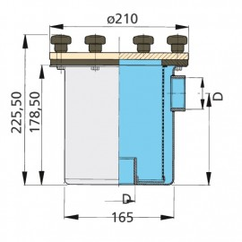 Filtr do wody typ 525
