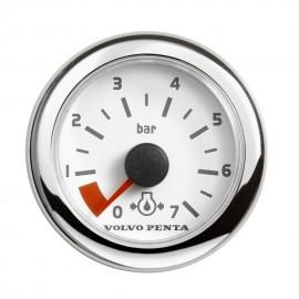Wskaźnik ciśnienia oleju EVC, 0-7 bar