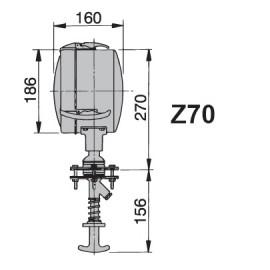 Reflektor - szperacz, Ø180 mm 24V