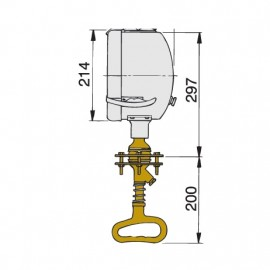 Reflektor - szperacz Ø215 mm
