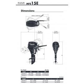 Silnik Tohatsu MFS 15